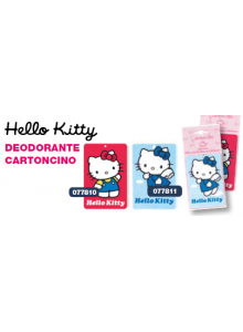 HELLO KITTY DEODORANTE CARTONCINO BLU