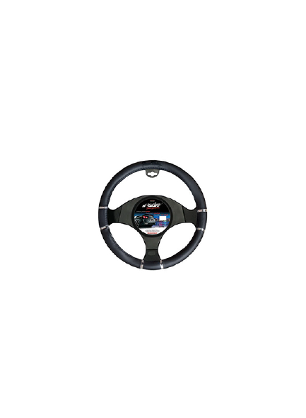 COPRIVOLANTE CHROME & BLACK