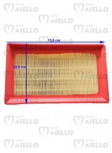 0021751640 FILTRO ARIA LOMBARDINI A PANNELLO BELLIER CHATENET ITALCAR JDM LIGIER META MICROCAR TASSO