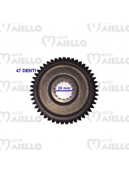 INGRANAGGIO RETROMARCIA FISSO RIDUTTORE COMEX CHATENET DIAMETRO 28mm Z47