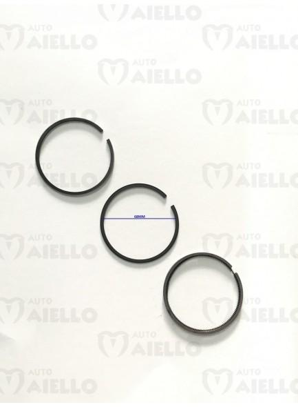 Fasce segmenti motore yanmar std tne diametro 68/ring set