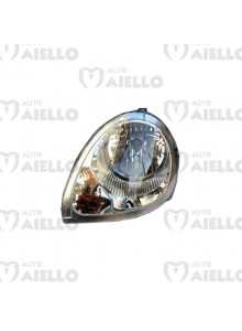 Faro anteriore sinistro nero Aixam city impulsion gto coupe e-city
