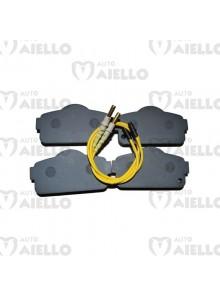Serie Pastiglie pattini freno anteriori 4 pz Chatenet ch26 28 30 32 Bellier B8 Jdm Roxsy
