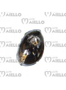 Faro fanale anteriore sinistro nero Chatenet ch26 ch28 ch30 ch32