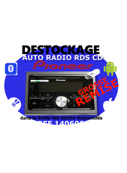 Autoradio Tablet Piooner Ligier JS50 AVH-X2600BT