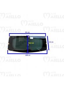 Lunotto vetro cristallo post. verde termico Aixam crossline 05/08