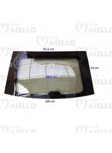 Lunotto vetro cristallo posteriore termico Aixam coupe e-coupe vision