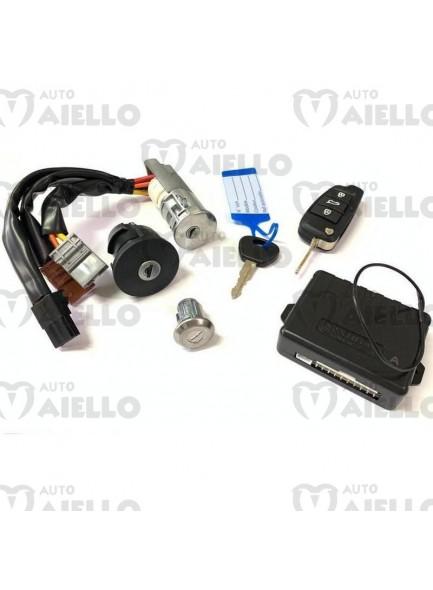 4AY019 Kit serrature +telecom.+centr. Aixam