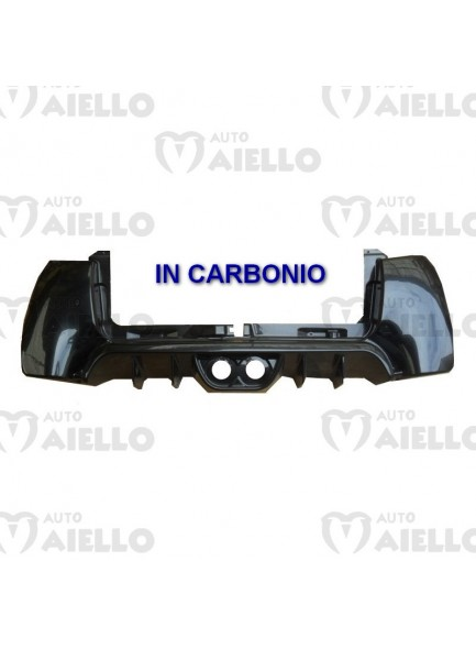 7AT029 paraurti posteriore in carbonio aixam gto