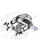 0086661 Passaruota parasassi lokari posteriore sinistro Ligier Ixo