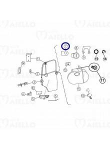 Piastrina serratura porta Aixam Furgone Mega Multitrack