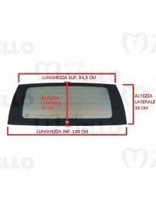 107429 Lunotto vetro cristallo posteriore termico colorato Jdm Abaca