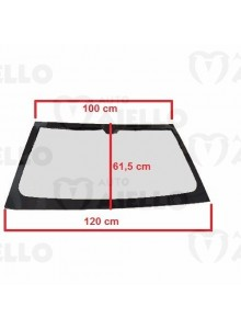 1400610 Parabrezza vetro cristallo colorato anteriore Microcar M8