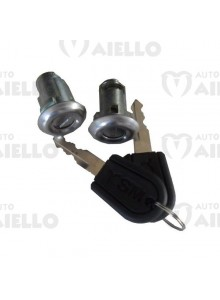 Kit serrature nottolini porte con chiave Aixam Ligier Microcar Chatenet