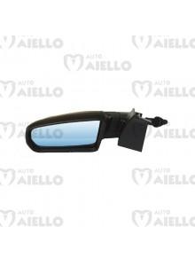 7AP141 Specchietto retrovisore sx completo di cover nero lucido Aixam impulsion gto crossover coupe vision